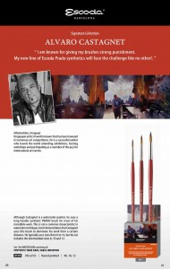 Alvaro Castagnet Signature Escoda Brush Set