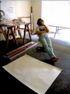 Step 1 of Tarantella How to paint using his free watermedia technique