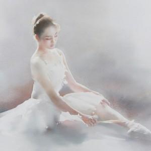 liu yi watercolour portraits